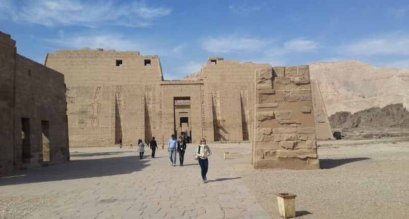Medinet Habu and West Bank Luxor From Hurghada