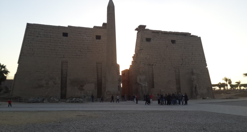 Luxor Temple and Karnak Temple From Luxor