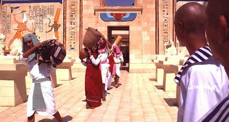 Al Azhar Park and Pharaonic village